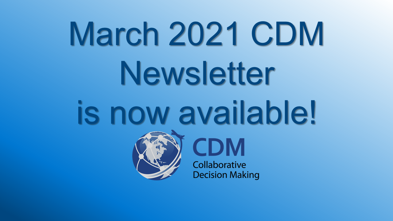 Spring 2021 CDM Newsletter
